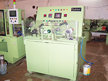 Machine for testing water pump