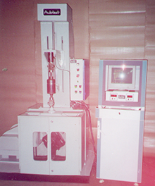 dynamic testing machine for shock absorber