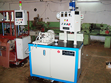 Machine for testing lubricating oil pump